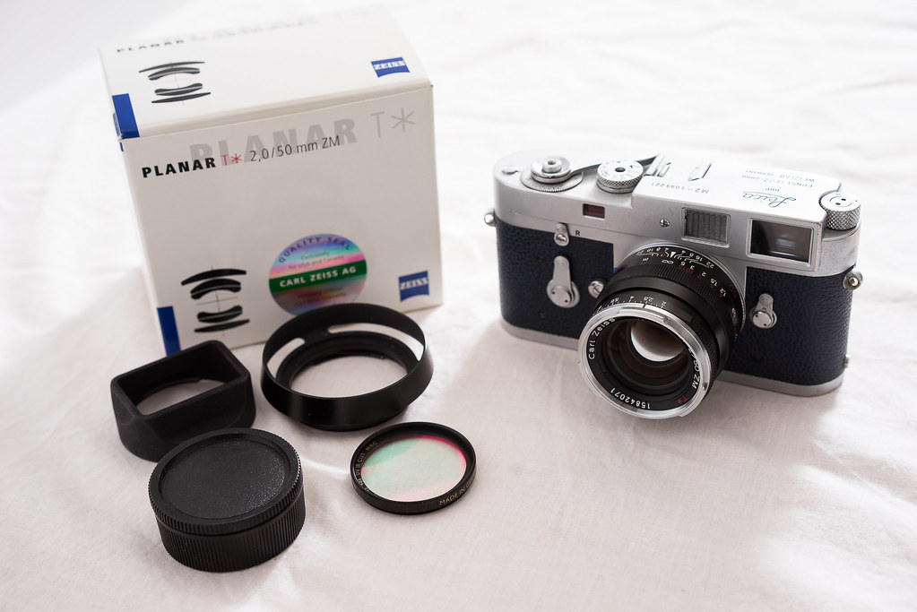 Leica M2, Zeiss 50mm ZM Planar -- Classifieds: For Sale in