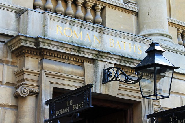 roman baths entrance