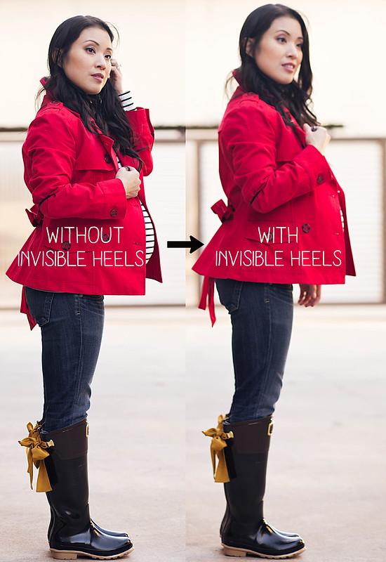 https://cuteandlittle.com | petite fashion lifestyle blog  invisible heels review
