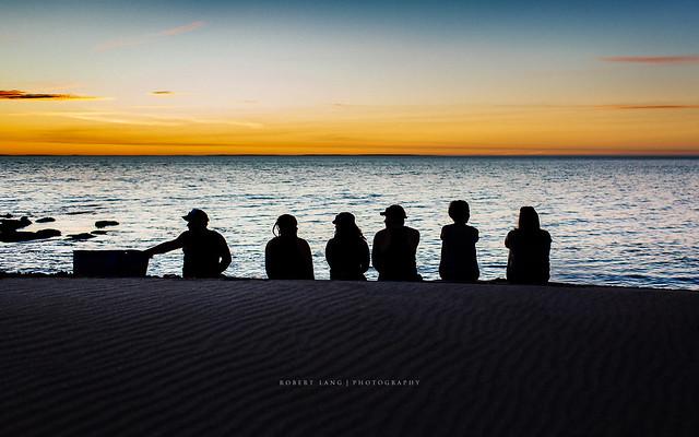 Summer with friends on a beach, Australia