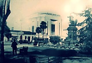 el Cinerama Santa Lucia año 1938.