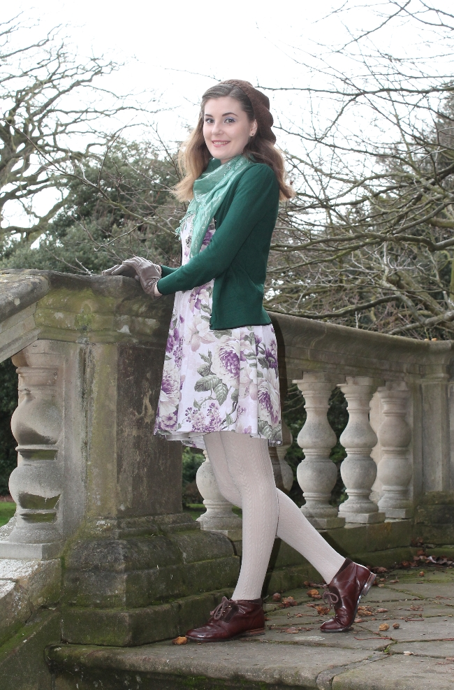 Floral outfit via lovebirds vintage
