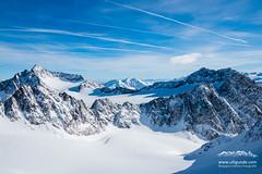 Blick vom Schrankogel Skigipfel