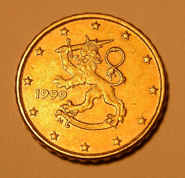 10 Euro Cent, Finland, 1999, Nordic Gold
