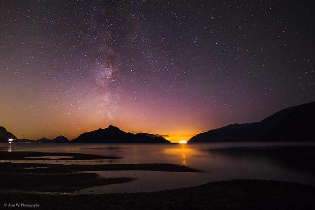 Porteau Cove Night Sky