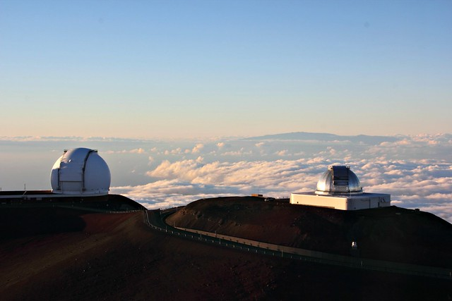 Mauna Kea huippu observatoriot
