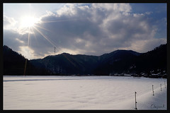 日本京都南丹市_美山雪祭.66
