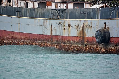 FOC port side swell