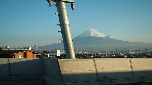 新幹線から富士山 OM-D E-M5 Mark II