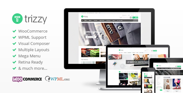 Trizzy v1.6.10 - Multi-Purpose WooCommerce WordPress Theme