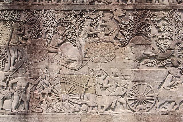 2007092205 - Angkor Thom(Bayon)(Relief)