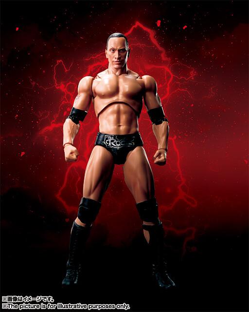 S.H.Figuarts – WWE 系列【巨石強森】The Rock 你們知道我以前也很纖細的嗎?!