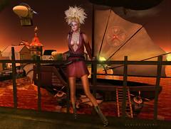 Airship Sunset Full 2