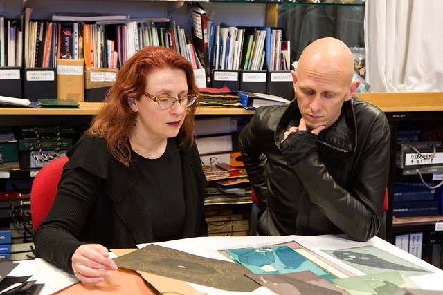 Audrey Niffenegger and Wayne McGregor discussing Raven Girl © ROH 2013
