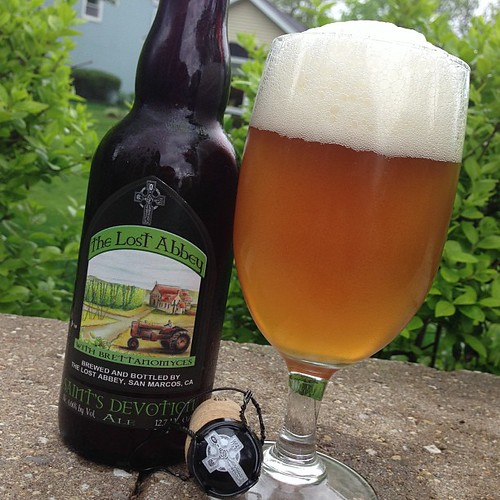 The Lost Abbey Saint's Devotion Ale