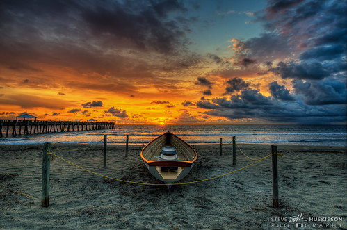 sunrise pier florida palmbeach hdr highdynamicrange junobeach stevehuskisson