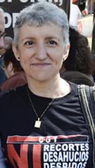 Emilia Moreno . Secretària gral. CGT País valencià