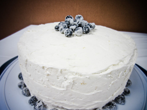 P52 Week 19: Lemon Blueberry Cake