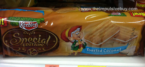 Keebler Special Edition Toasted Coconut