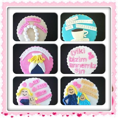 #cookies#mothersday#annelereozelkurabiyeler by l'atelier de ronitte