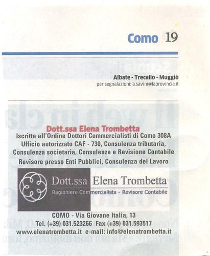 La Provincia di Como, 21 maggio 2013 by brezzadilago