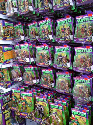 Teenage Mutant Ninja Turtles_new & classics' sightings @ TRU