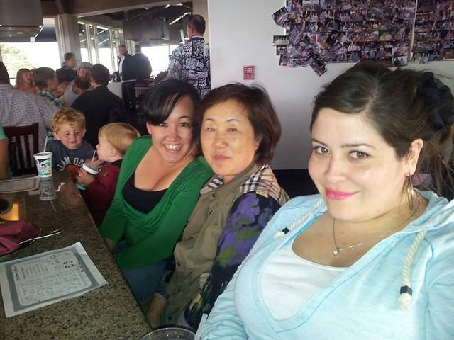Patti, Torie at Sapporo
