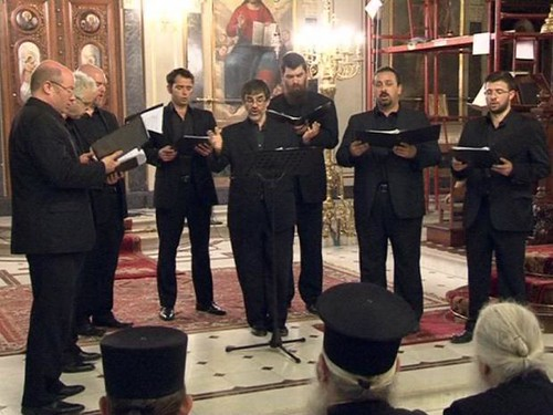 Cappella Romana performing in Patra, Greece