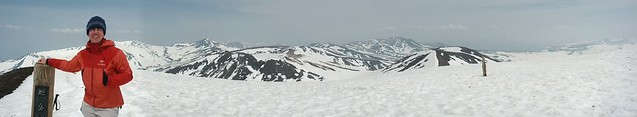 mt asahi - highest in hokkaido