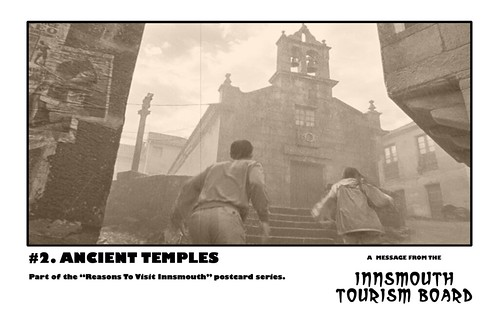 Innsmouth Tourism Board 02 - Ancient Temples