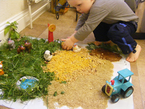 Natural Sensory Small World Farm (Photo from Creative Playhouse)
