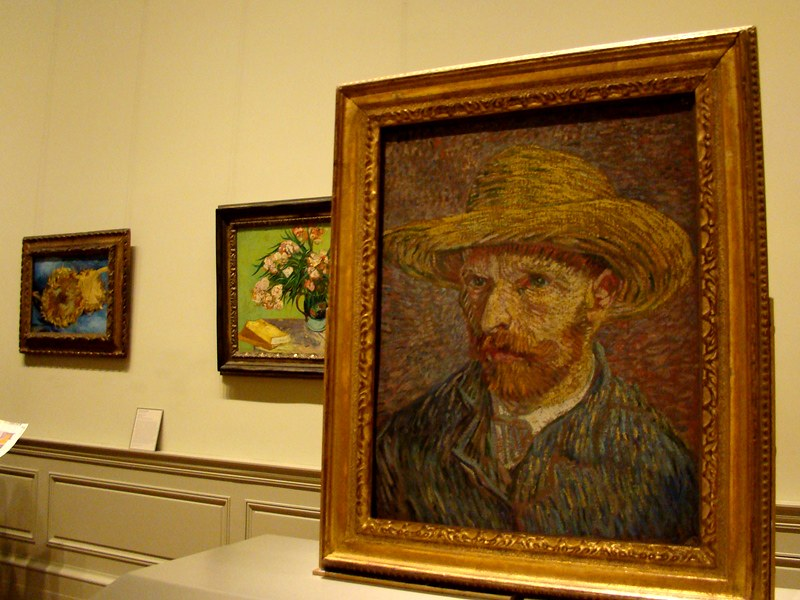 The Met Van Gogh portrait