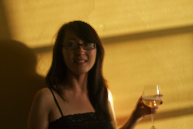 Helen with wine (2013)