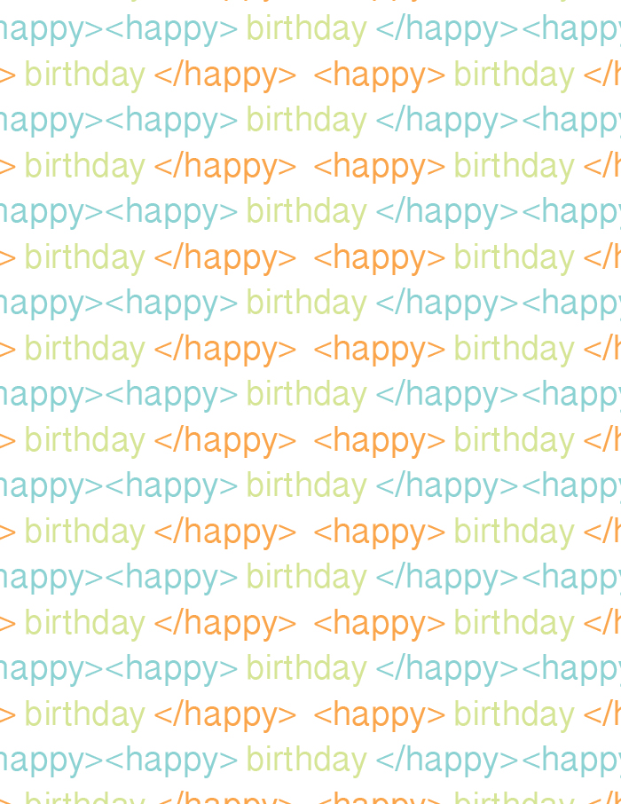 Printable Birthday Wrapping Paper Free ~ Bday wrap