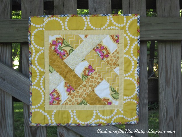 Yellow Ribbon Quilt