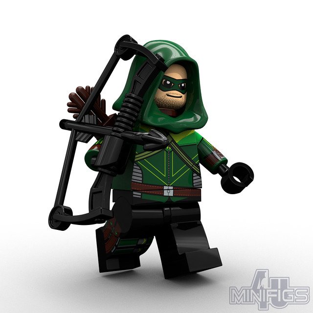 green arrow lego super heroes flickr photo sharing