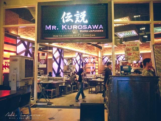 Mr. Kurosawa, Eastwood, Libis