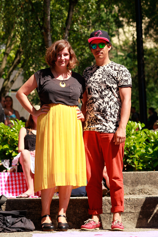 coco_ian men, women, street style, street fashion, Mosswood Park, Burger Boogaloo, Oakland,