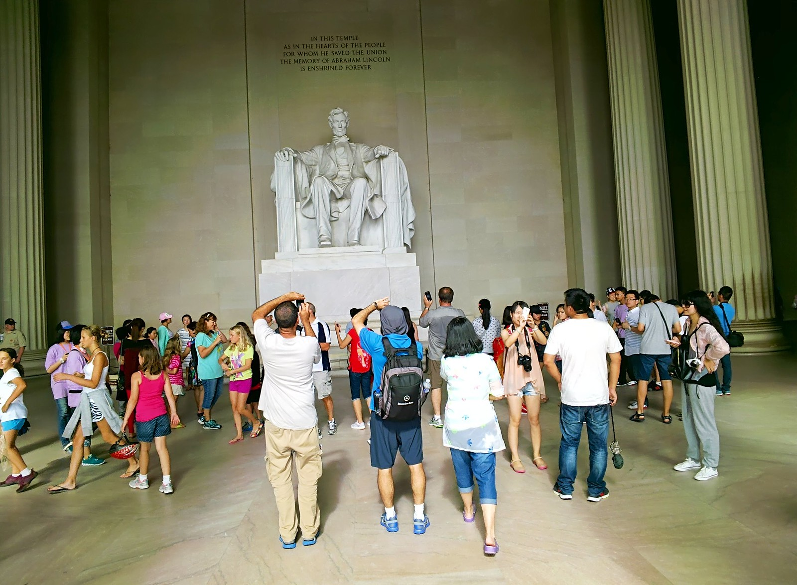 Lincoln Memorial Throughglass 27267