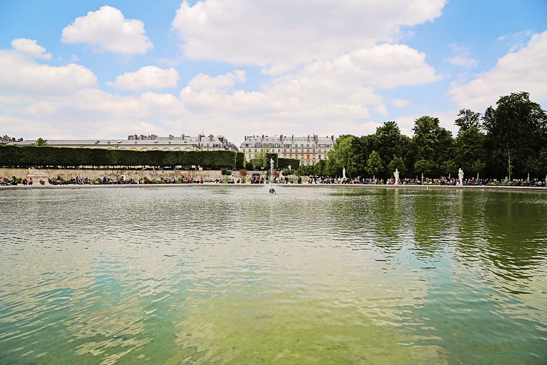 Pond at the Tuilleries