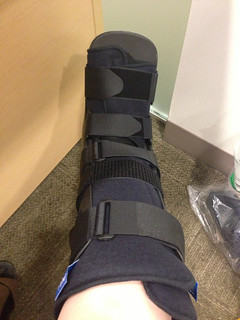 Boot for my fractured foot
