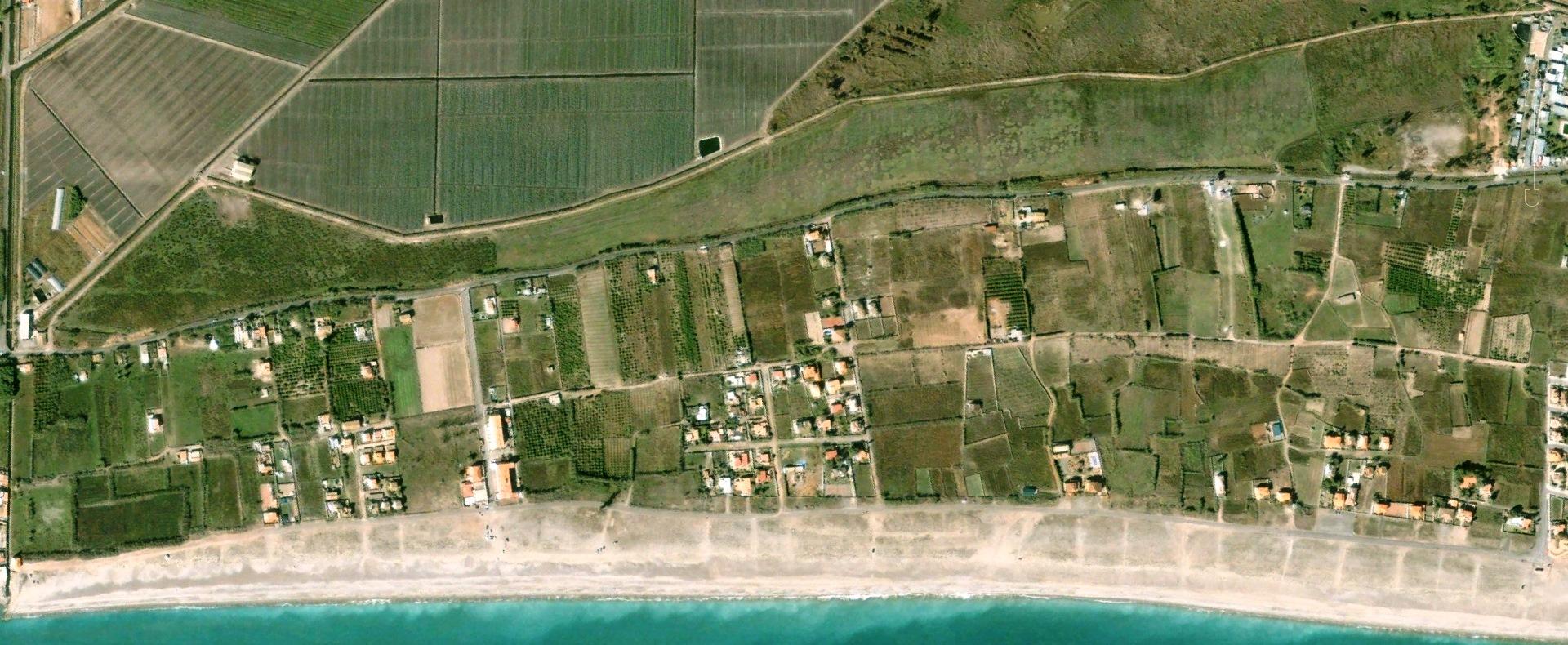 antes, urbanismo, foto aérea, desastre, urbanístico, planeamiento, urbano, construcción, costa, Almenara, Castellón