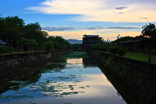 Moat of the Citadel in Hue