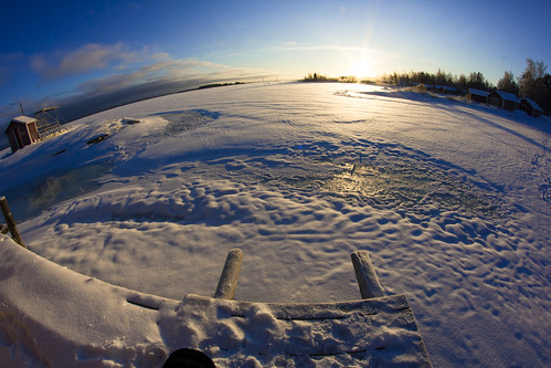 winter snow ice digital canon finland landscape frozen depthoffield dslr seaice midwinter lowsun vaasa cr2 25c raippaluodon 550d canonrebelt2i