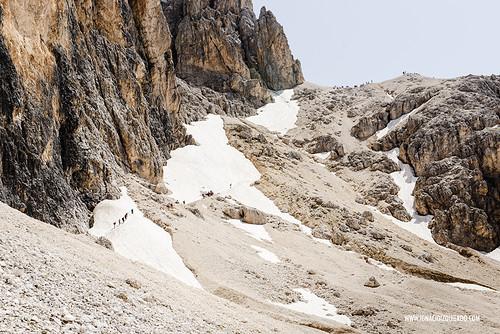 Dolomites - Val di Fassa - Vinicio Capossela at Vajolet 25