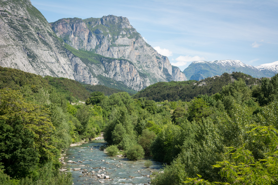 Sarca fiume river Dro Italy