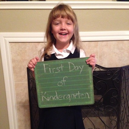 238:365 Hard to believe its time for Kindergarten already.