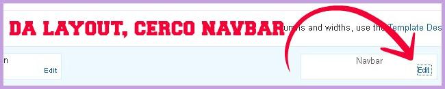layout navbar, barra di navigazione dal blog di blogger, istruzioni blogger, tutorial, http://cecrisicecrisi.blogspot.it/