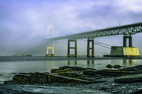 Newport Fog by Robert Izzi