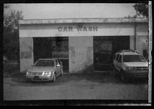The dingiest car wash ever, Whitehall, N.Y.